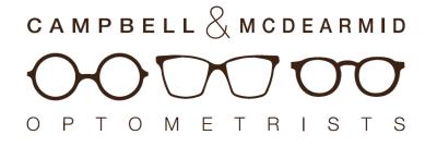 Campbell & McDearmid Optometrists logo