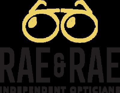 rae and rae opticians logo