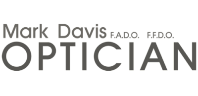 mark davis optician logo