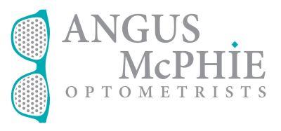 angus mcphie optometrists logo