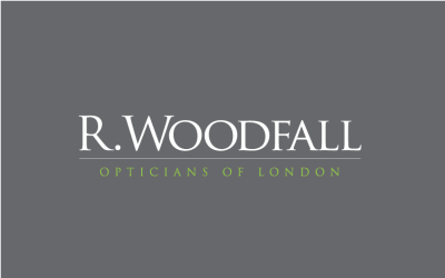 r woodfall opticians logo
