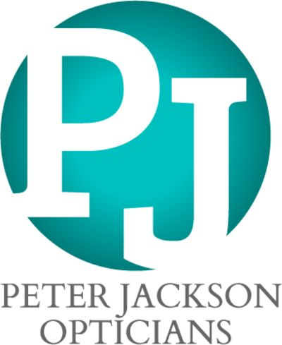 peter jackson opticians logo
