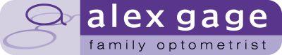 Alex Gage optometrists logo