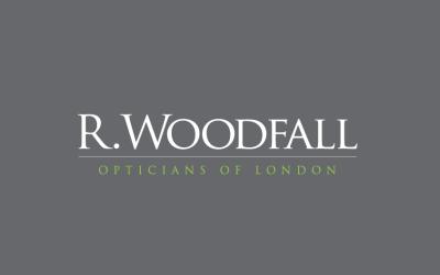 r woodfall opticians logo