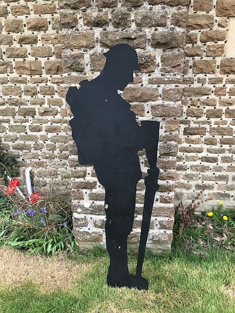 soldier silhouette haslemere