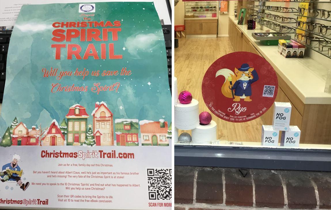 christmas spirit trail