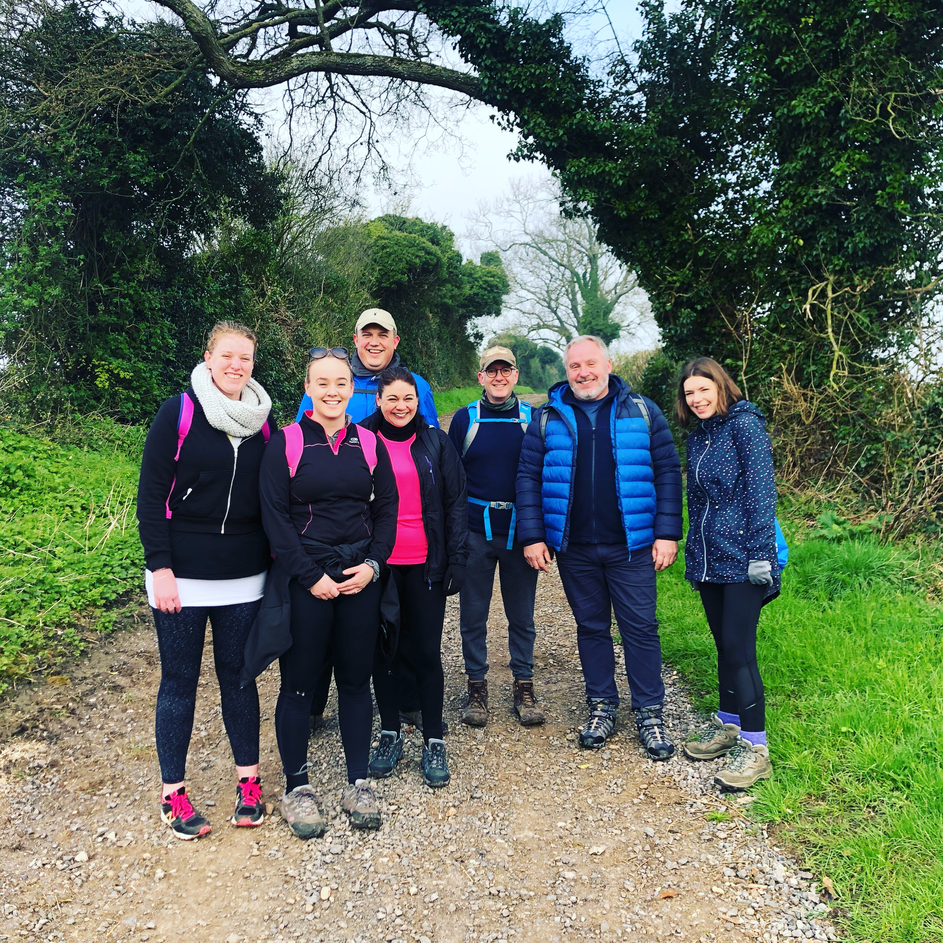 leightons 100km run group photo