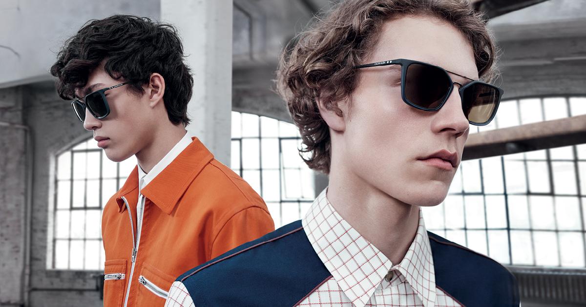 Calvin Klein eyewear campaign image