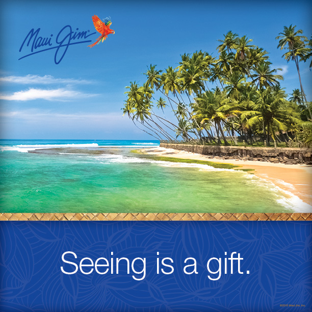 maui jim seeing is a gift