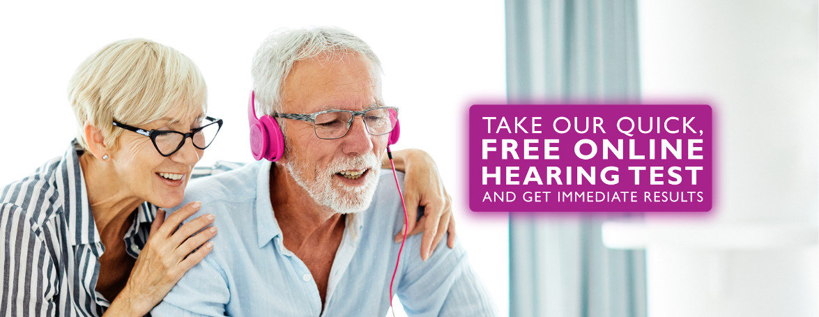 Take our quick, free online hearing test and get immediate results