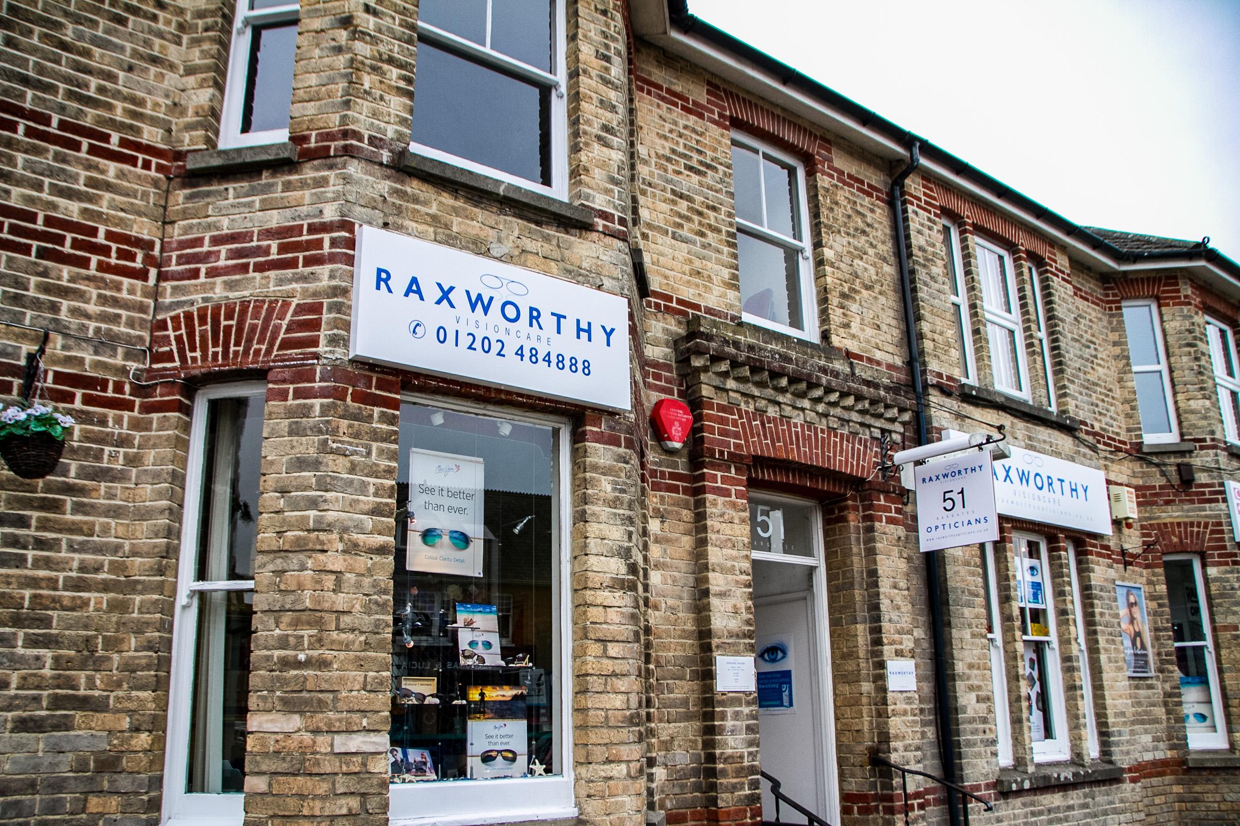 Raxworthy visioncare exterior