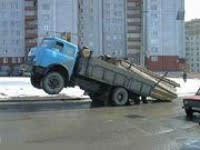 truck overloaded