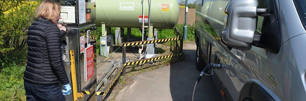 Refilliable LPG Services installation Wiltshire East Somerset Bath