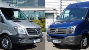 sprinter crafter vans