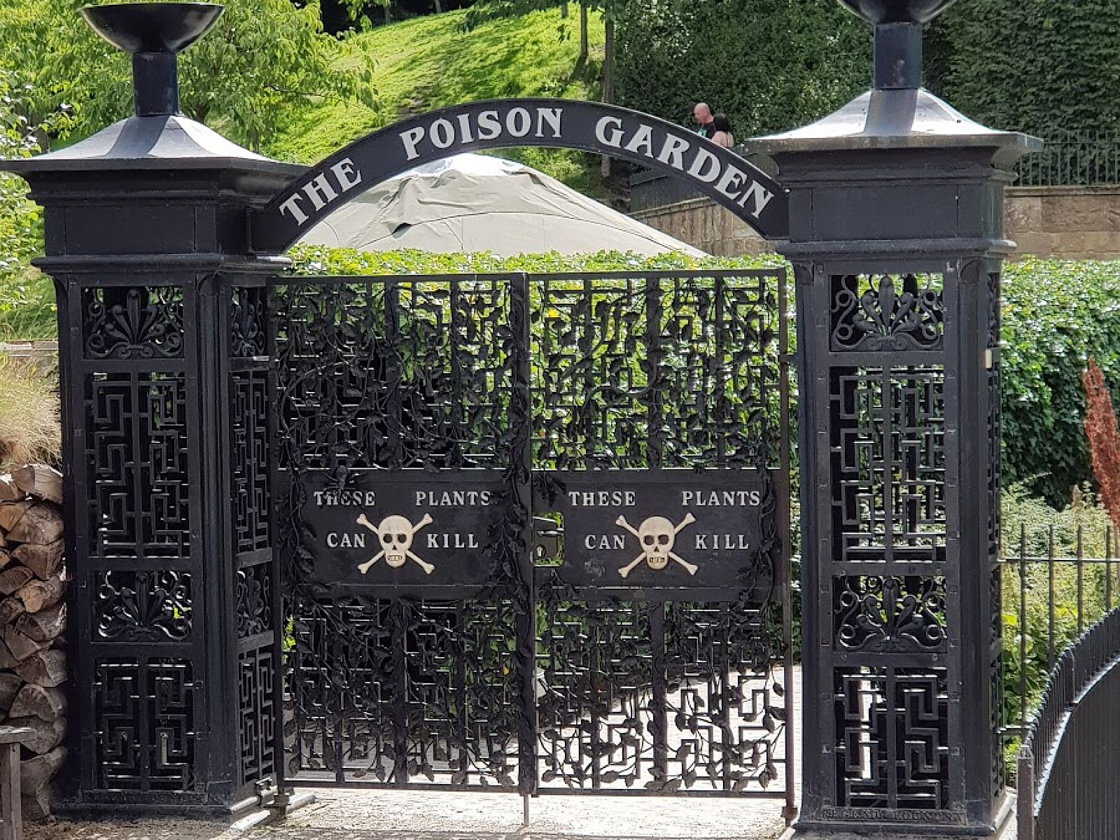 Poison Garden The Alnwick Garden South Shields United Kingdom