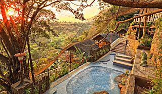 Luljetta's Hanging Gardens Spa.