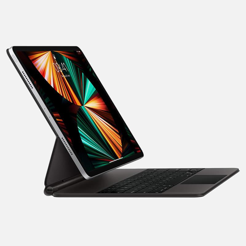 Apple Magic Keyboard Schwarz für iPad Pro 12,9 Zoll günstig mieten statt kaufen