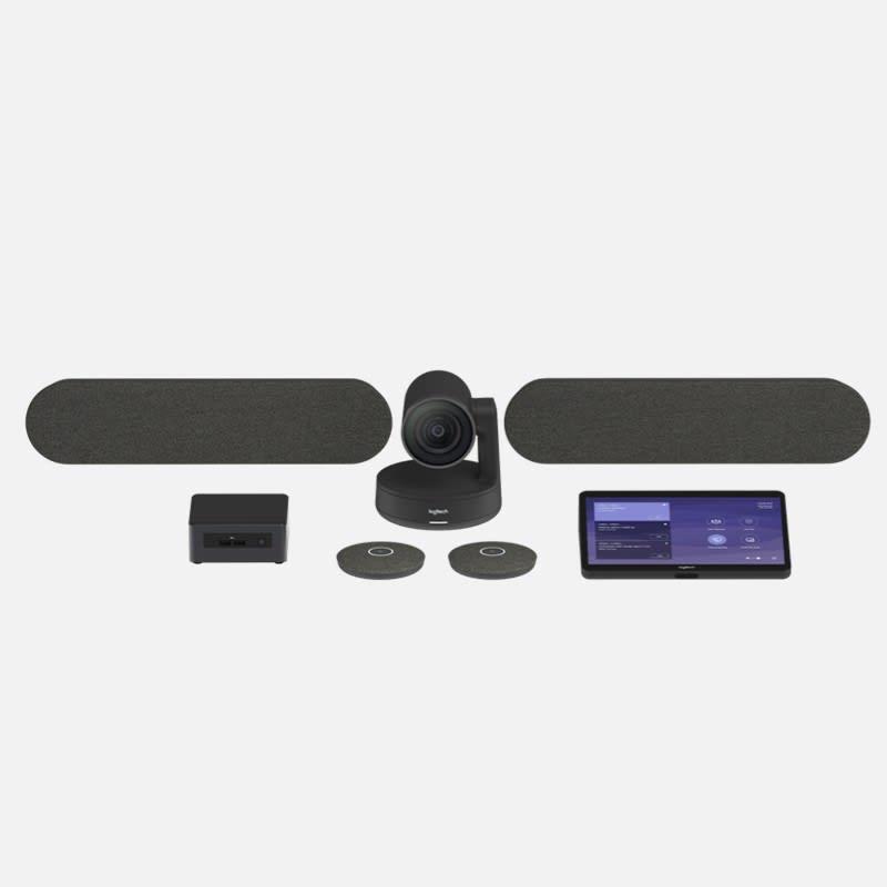 Logitech Tap Large Room Bundle Videokonferenzsystem mieten