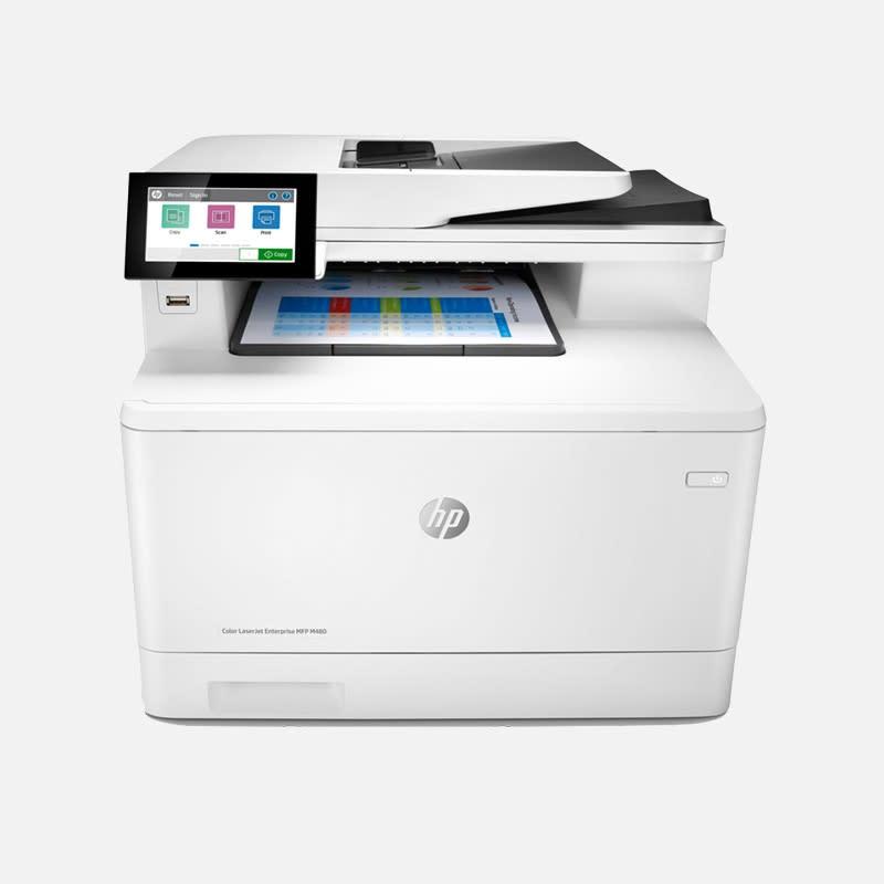 HP Color LaserJet Enterprise M480f MFP Multifunktionsdrucker mieten