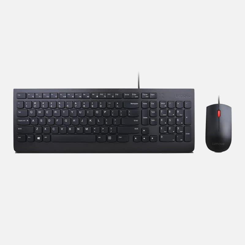 Lenovo Essential Tastatur-Maus-Set, kabelgebunden mieten