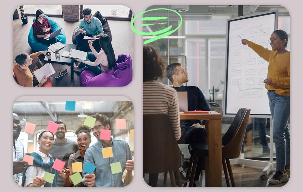 Hybride Arbeit - Die neuen Anforderungen an das Büro - Zusammenarbeit