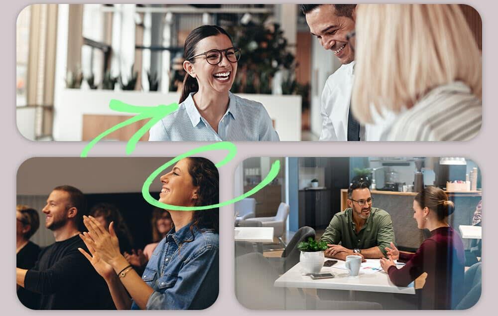 Hybride Arbeit - Die neuen Anforderungen an das Büro - Sozialer Austausch