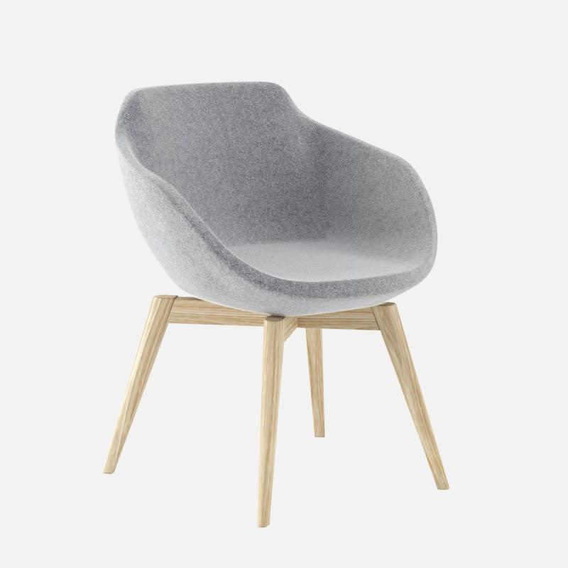 Sessel Bela Grau clever mieten statt kaufen