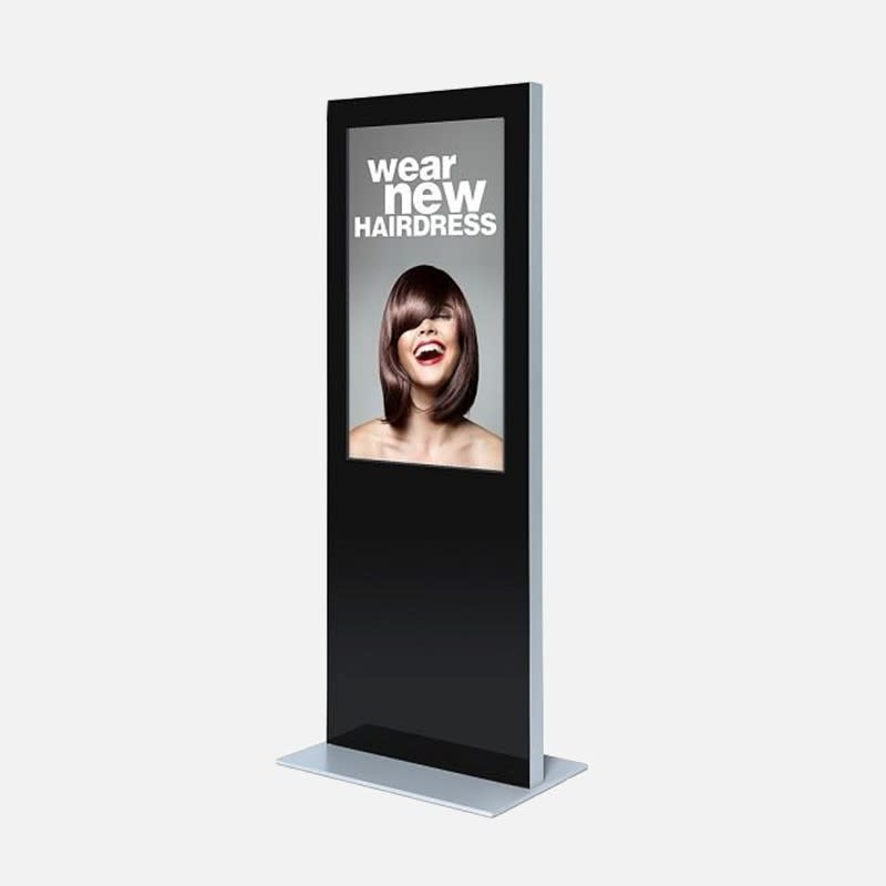 Showdown Displays Digitale Informationssäule mit Bildschirm mieten