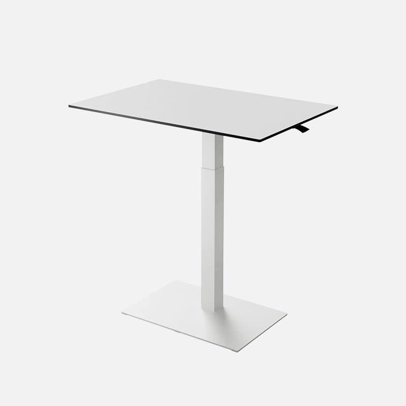 Höhenverstellbarer Schreibtisch Ian Weiß clever mieten statt kaufen