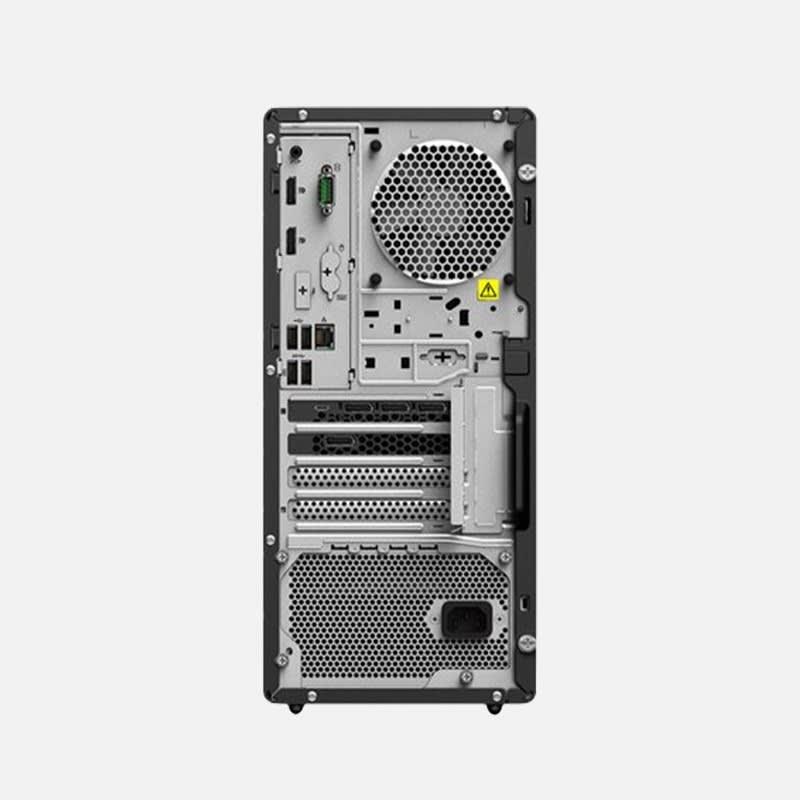Lenovo ThinkStation P340 30DH Desktop-PC mieten - Rückansicht
