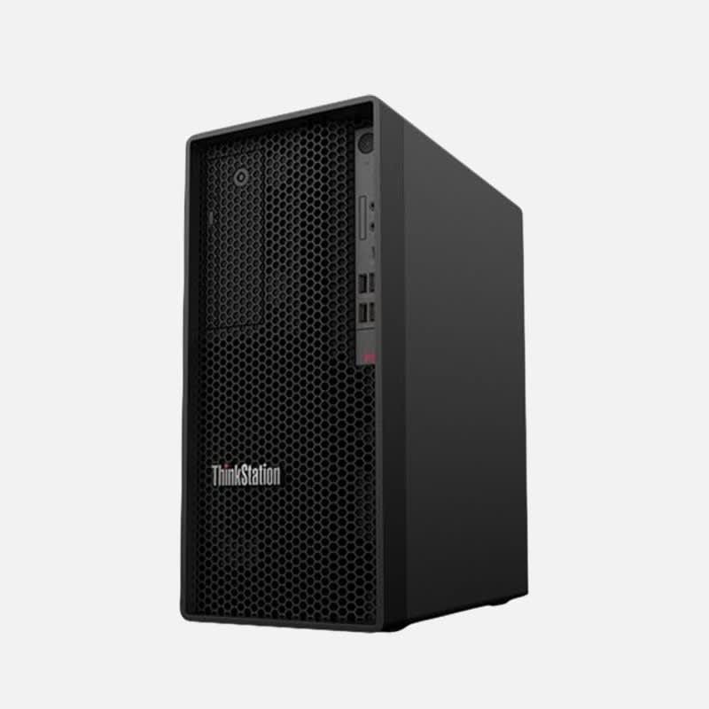 Lenovo ThinkStation P340 30DH Desktop-PC mieten - Seitenansicht