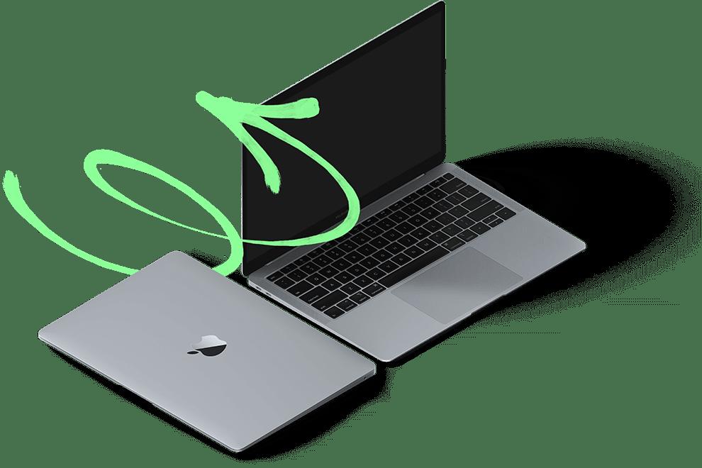 Laptop as a Service - Moderne Laptops der Top-Marken