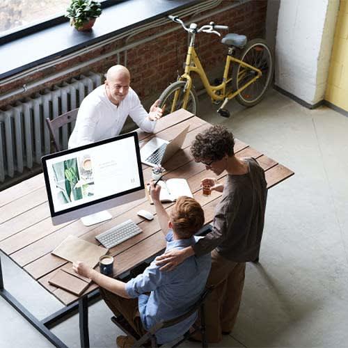 Arbeitsbereich - Open Space