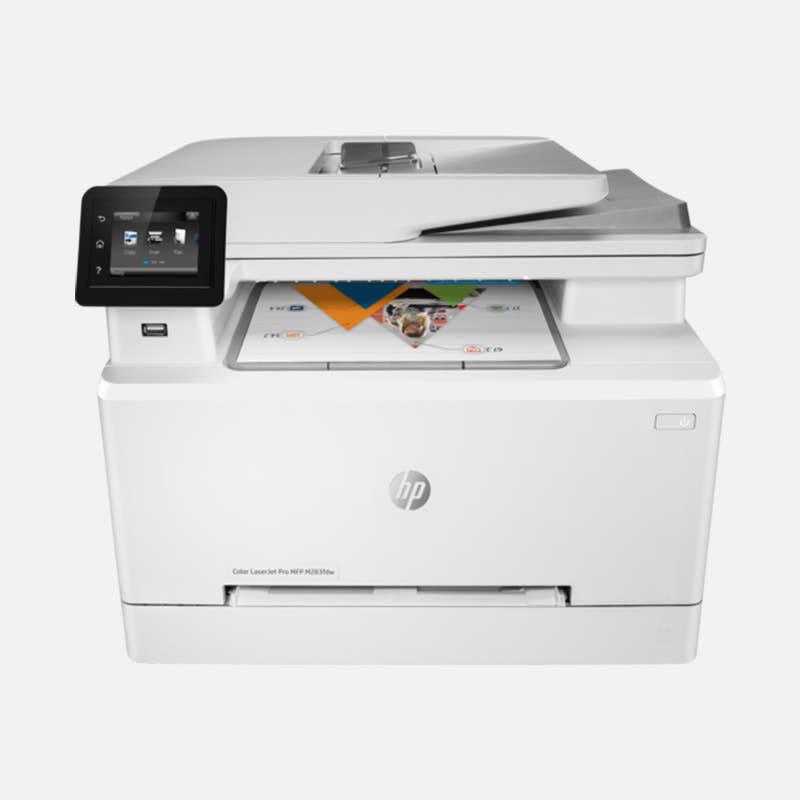 HP Color Laserjet Pro M284FDW Multifunktionsdrucker mieten