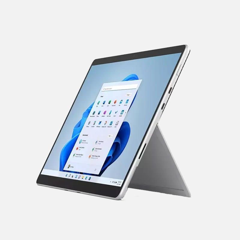Microsoft Surface Pro 8 Tablet mieten - Seitenansicht