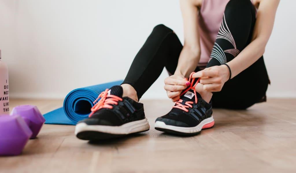 Produktivität im Homeoffice - Sport und gesunde Ernährung