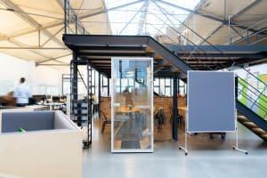 Büroflächen neu denken - Offene Gestaltung für Kommunikation, Kollaboration und Konzentration
