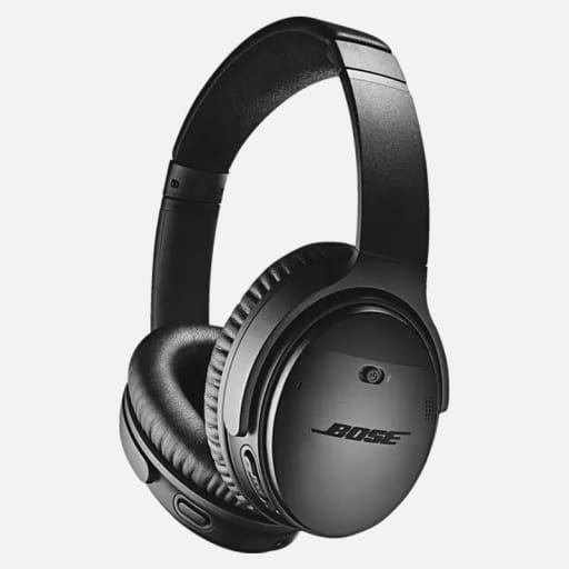 Bose QuietComfort 35 II Noise Cancelling Over-Ear Kopfhörer - Schwarz mieten