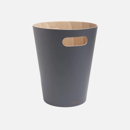 Papierkorb Rumpel - Anthrazit mieten
