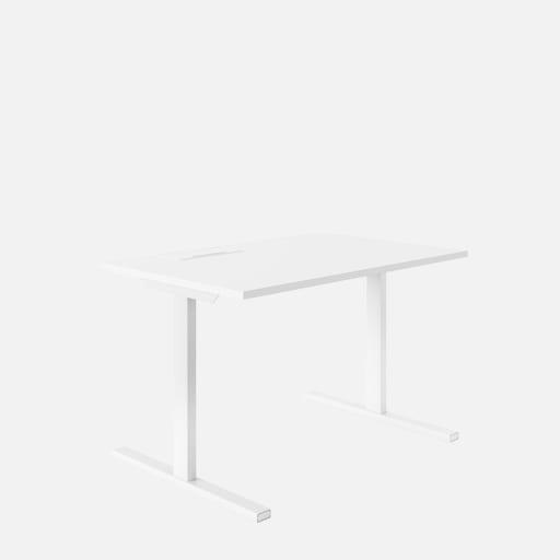 Schreibtisch Teo - Weiss mieten