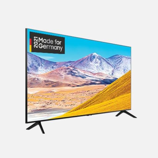 Samsung GU55AU8079U Crystal UHD 4K TV mieten