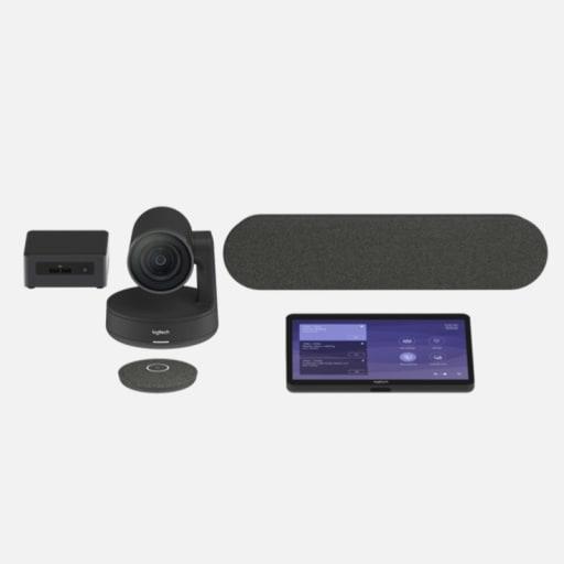 Logitech Tap Medium Room Bundle Videokonferenzsystem mieten