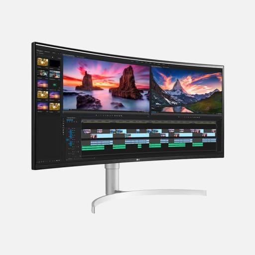 LG 38WN95C-W UltraWide WLED Monitor mieten