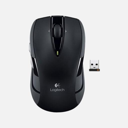 Logitech M545 Ergonomische Maus, kabellos mieten