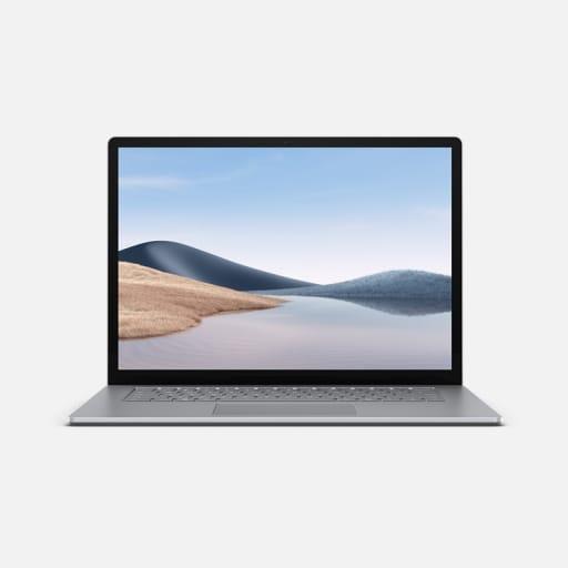 Microsoft Surface Laptop 4 15 Zoll Platin mieten