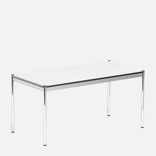 Schreibtisch Jim - Weiß clever mieten statt kaufen
