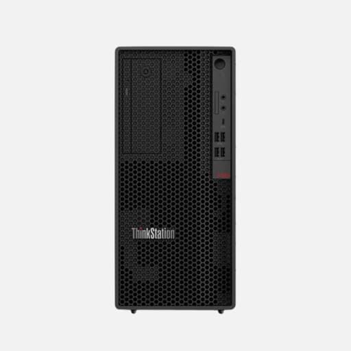 Lenovo ThinkStation P340 30DH Desktop-PC mieten - Vorderansicht
