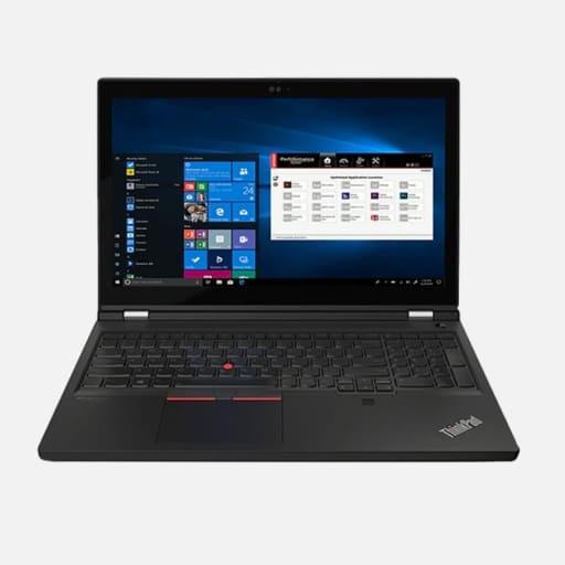 Lenovo ThinkPad P15 G2 Notebook mieten - Frontansicht