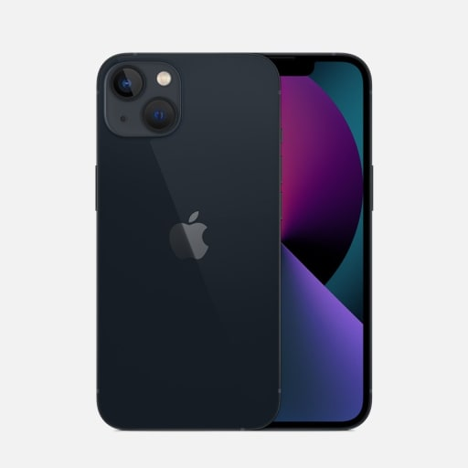 Apple iPhone 13 Schwarz mieten
