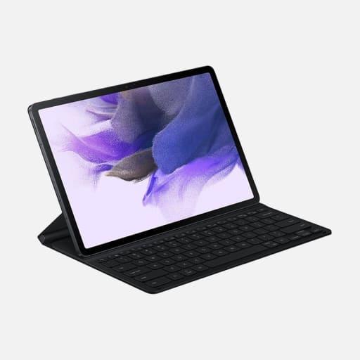 Samsung Book Cover Keyboard für Galaxy Tab S7+ & Tab S7 FE mieten